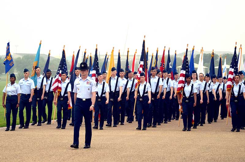 lackland afb graduation parade
